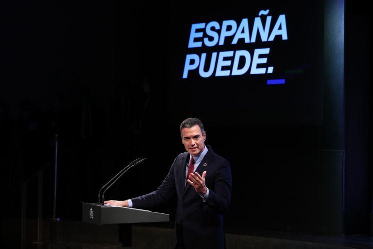 """Pedro Sánchez: """"Solo podremos abordar este desafío con la máxima unidad"""""""