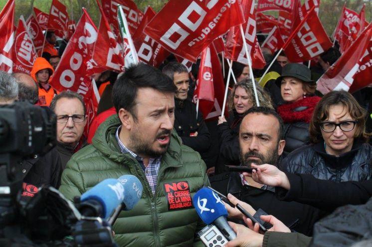 El PSOE en el Senado pide al Gobierno de España evitar el cierre de la Mina de Aguablanca