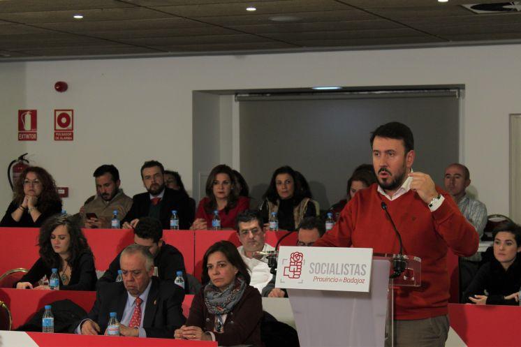 EL PSOE PROVINCIAL DE BADAJOZ APRUEBA POR UNANIMIDAD EL INFORME DE GESTIÓN DE LA COMISIÓN EJECUTIVA