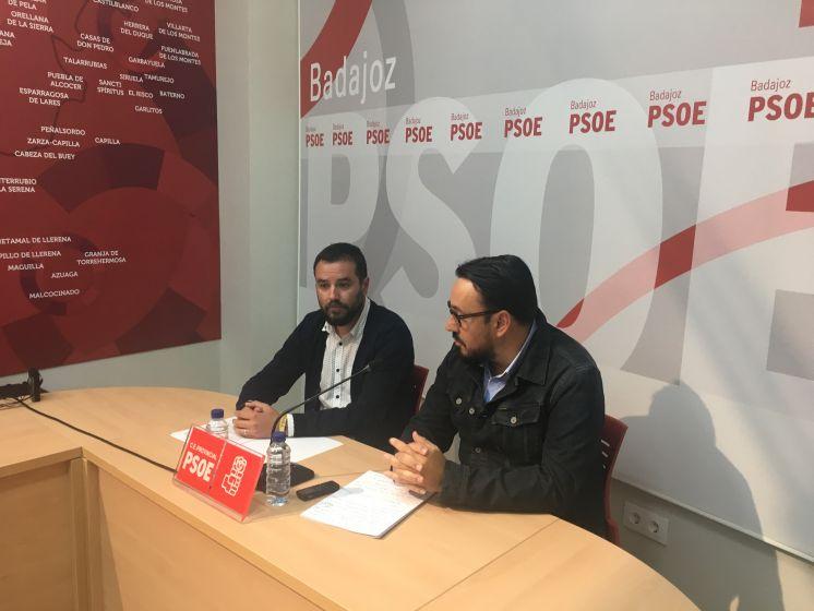 El PSOE Provincial de Badajoz exige la dimisión de la portavoz y de dos concejales del PP en Navalvillar de Pela por un presunto delito de prevaricación