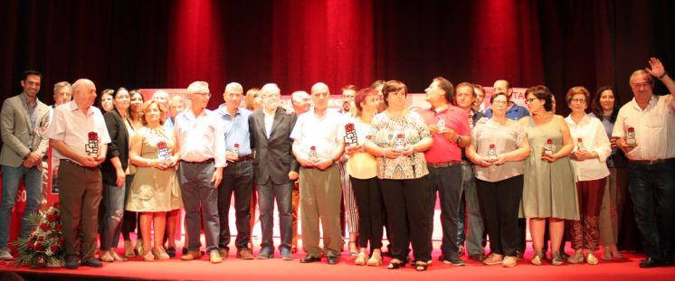 EL PSOE DE VALVERDE DE LEGANÉS CONMEMORA SUS 97 AÑOS DE HISTORIA