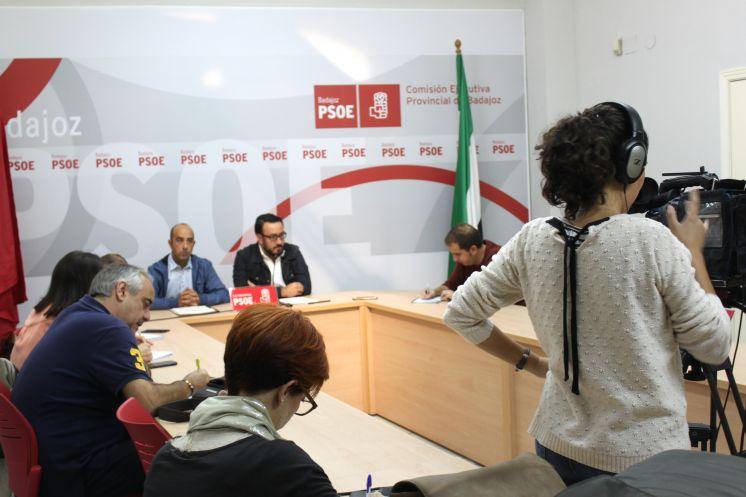 El portavoz del PSOE de Talarrubias presenta una denuncia contra Juan Metidieri por agresión física, insultos y amenazas
