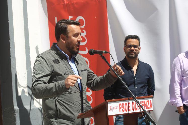 El PSOE de Olivenza conmemora los 105 años de la constitución de su Agrupación