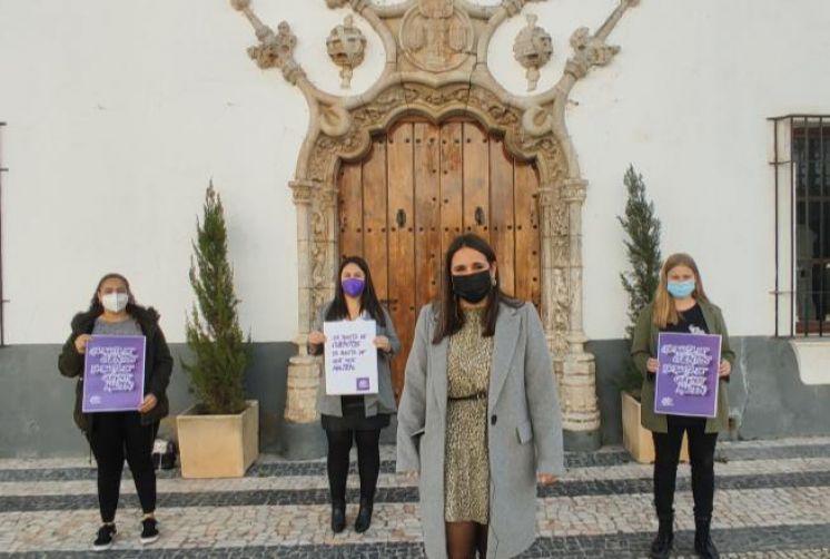 Juventudes Socialistas de Badajoz lanza una campaña con motivo a través de las redes sociales con motivo del 25N