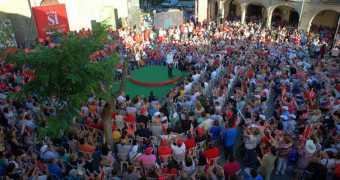 Mitin PSOE Villanueva de la Serena 21/06/16